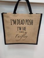 Dead Posh Large Jute Bag - Faifley